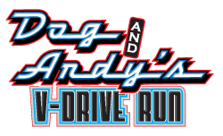 Dog and Andy's V-Drive Run
